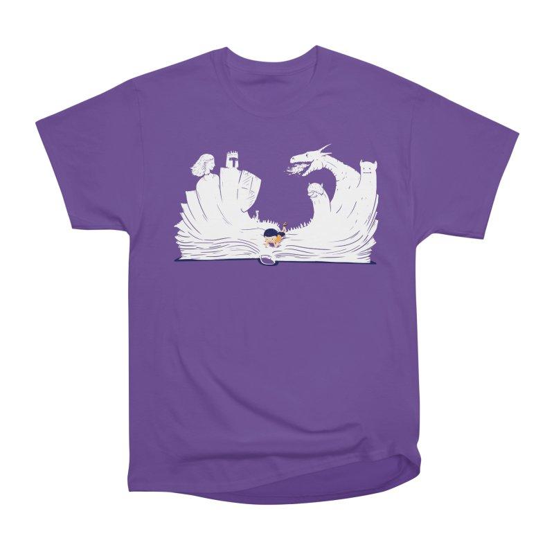 Words create worlds Women's Heavyweight Unisex T-Shirt by Arkady's print shop