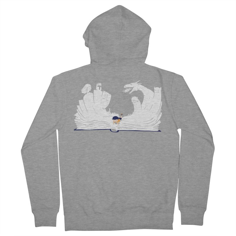 Words create worlds Women's French Terry Zip-Up Hoody by Arkady's print shop