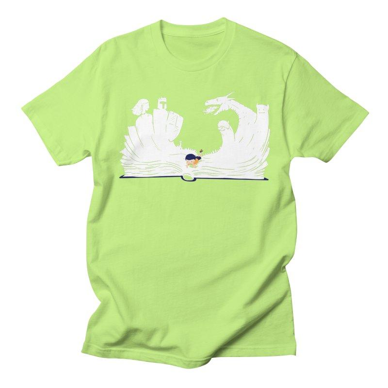 Words create worlds Women's Regular Unisex T-Shirt by Arkady's print shop