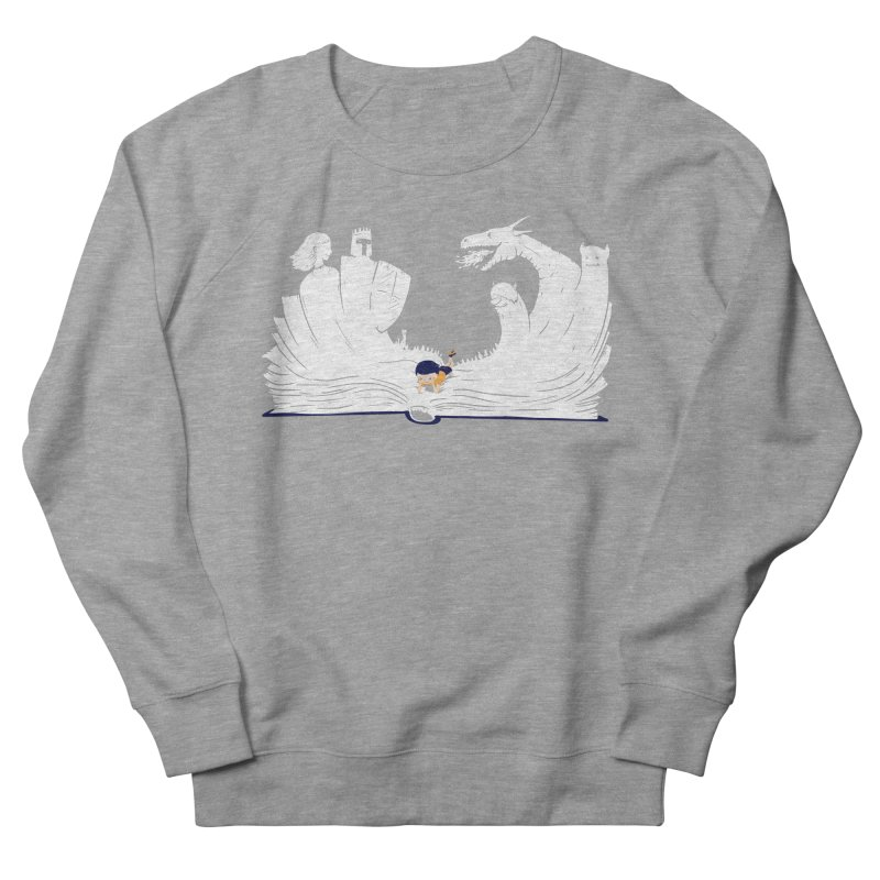 Words create worlds Women's French Terry Sweatshirt by Arkady's print shop