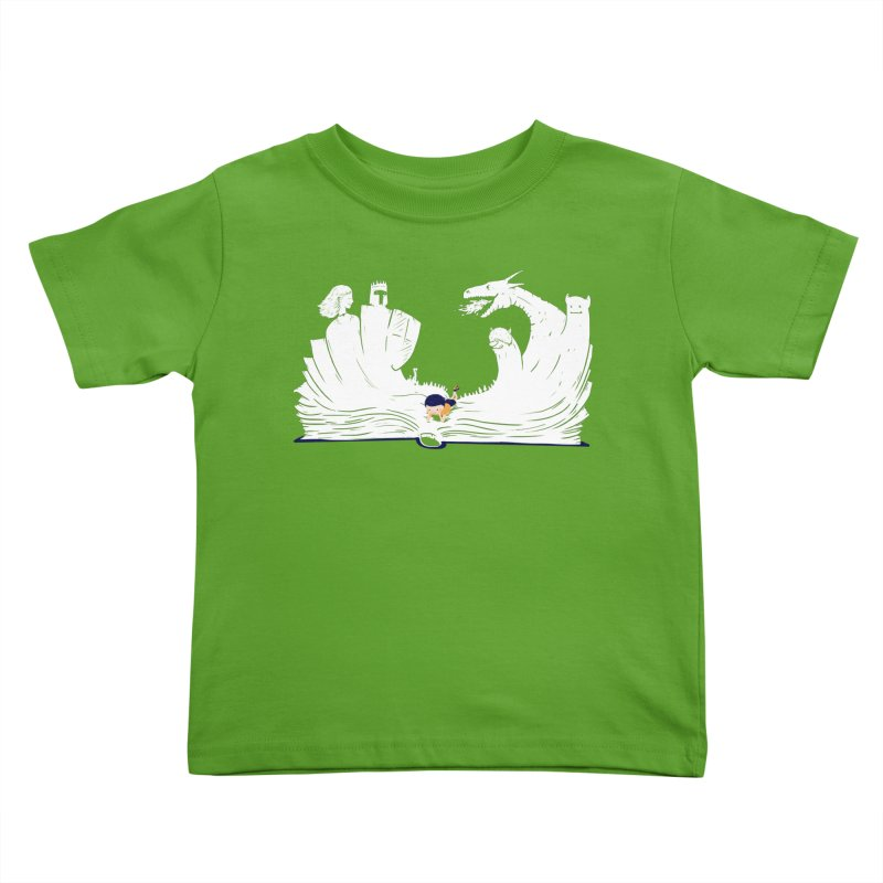 Words create worlds Kids Toddler T-Shirt by Arkady's print shop
