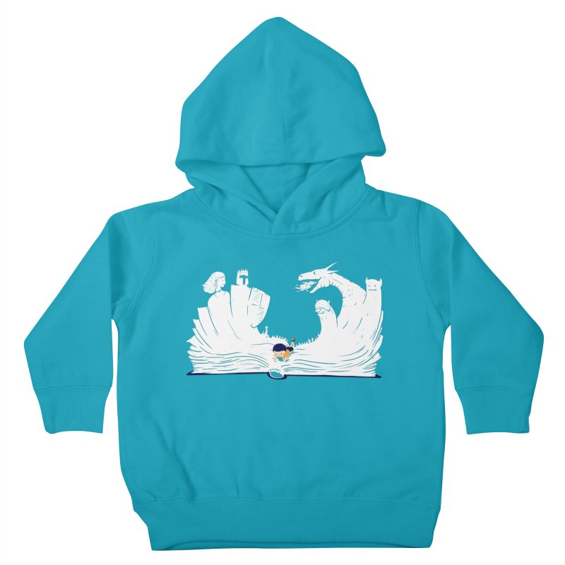 Words create worlds Kids Toddler Pullover Hoody by Arkady's print shop
