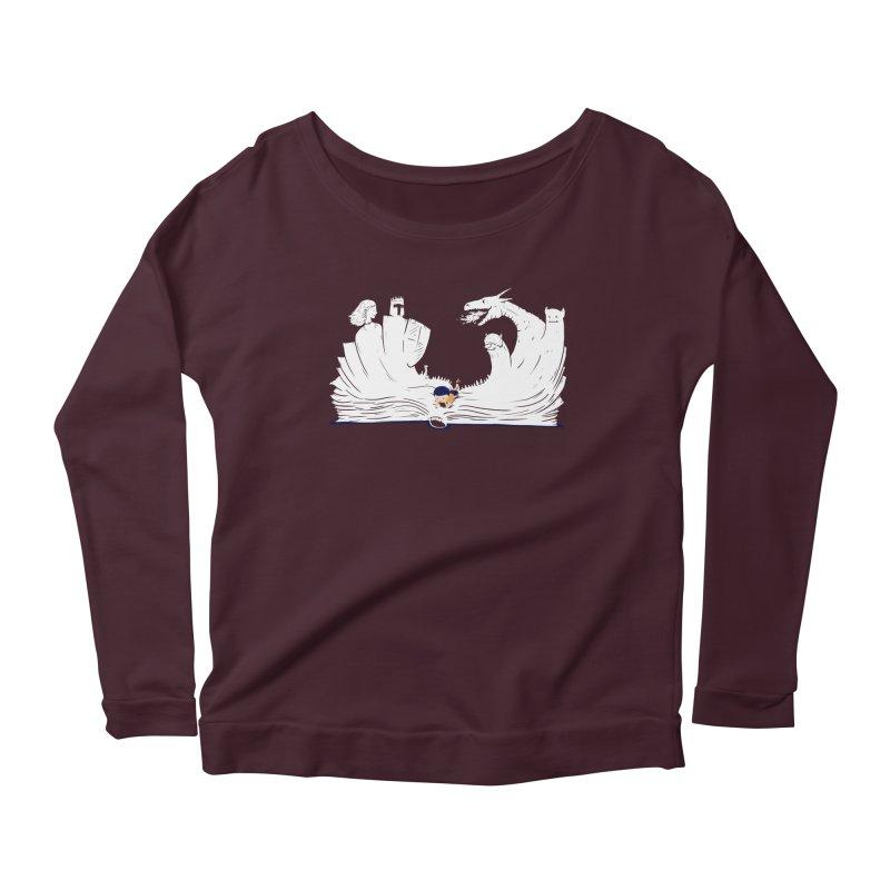 Words create worlds Women's Longsleeve T-Shirt by Arkady's print shop