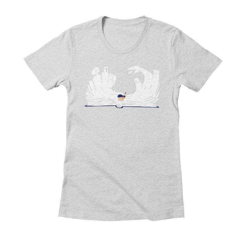 Words create worlds Women's T-Shirt by Arkady's print shop