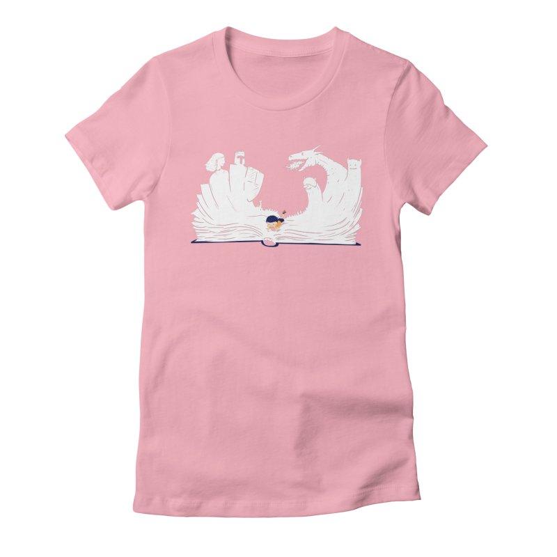 Words create worlds Women's T-Shirt by Arkady's print shop