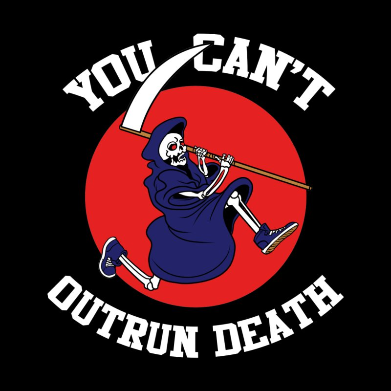 Outrun Death Jogger Tee None  by Arlen Pringle
