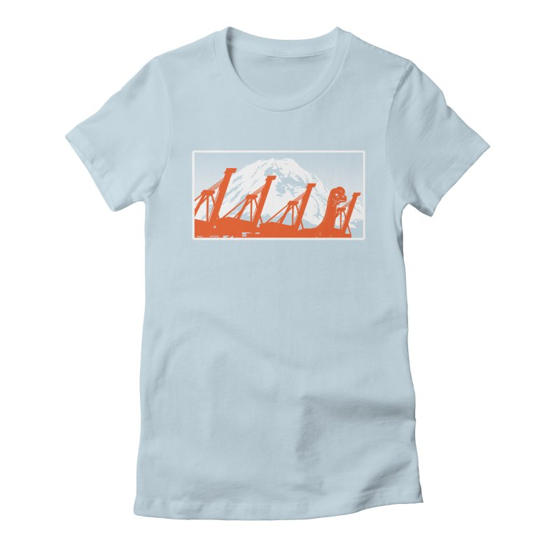 Just Blend In! Women's Fitted T-Shirt by Arlen Pringle