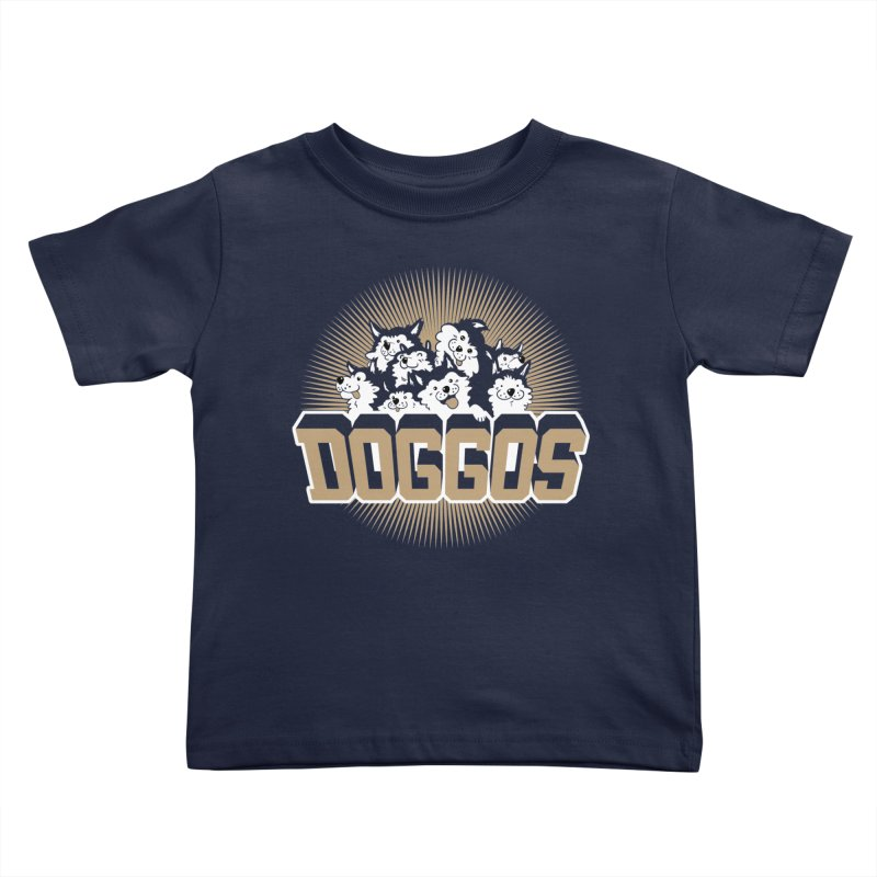 DOGGOS Kids Toddler T-Shirt by Arlen Pringle