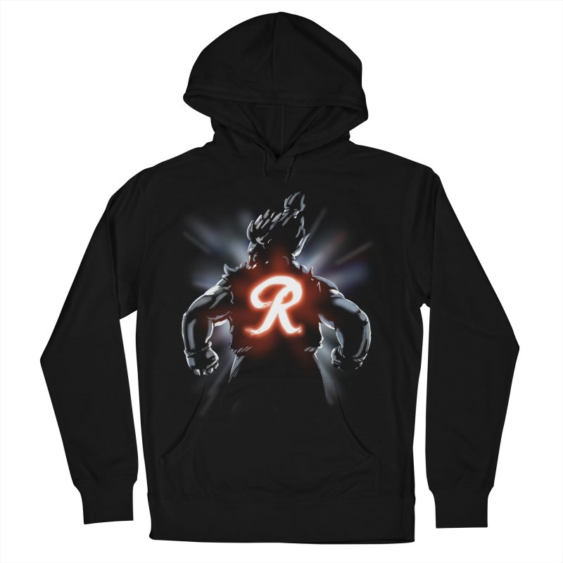 Rainier Demon Men's Pullover Hoody by Arlen Pringle