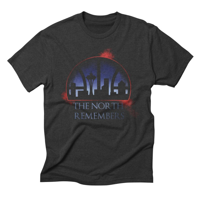 The North Remembers Men's Triblend T-Shirt by Arlen Pringle