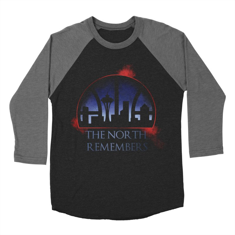 The North Remembers Women's Baseball Triblend T-Shirt by Arlen Pringle