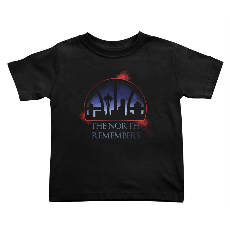 The North Remembers Kids Toddler T-Shirt by Arlen Pringle