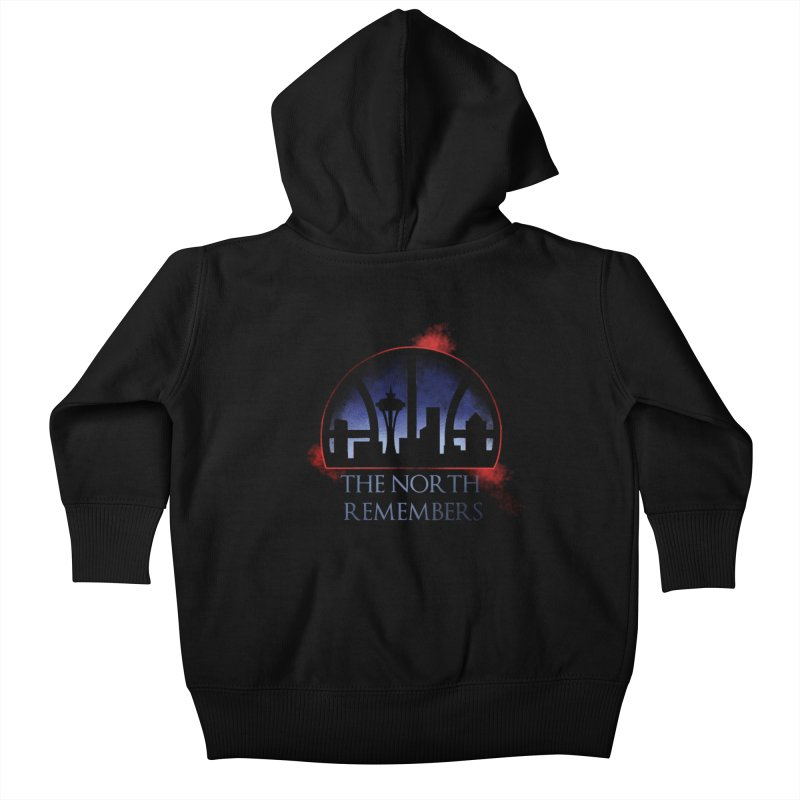 The North Remembers Kids Baby Zip-Up Hoody by Arlen Pringle