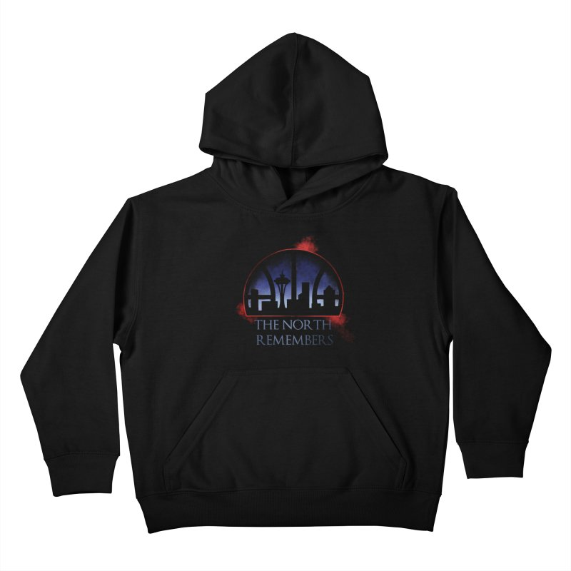 The North Remembers Kids Pullover Hoody by Arlen Pringle