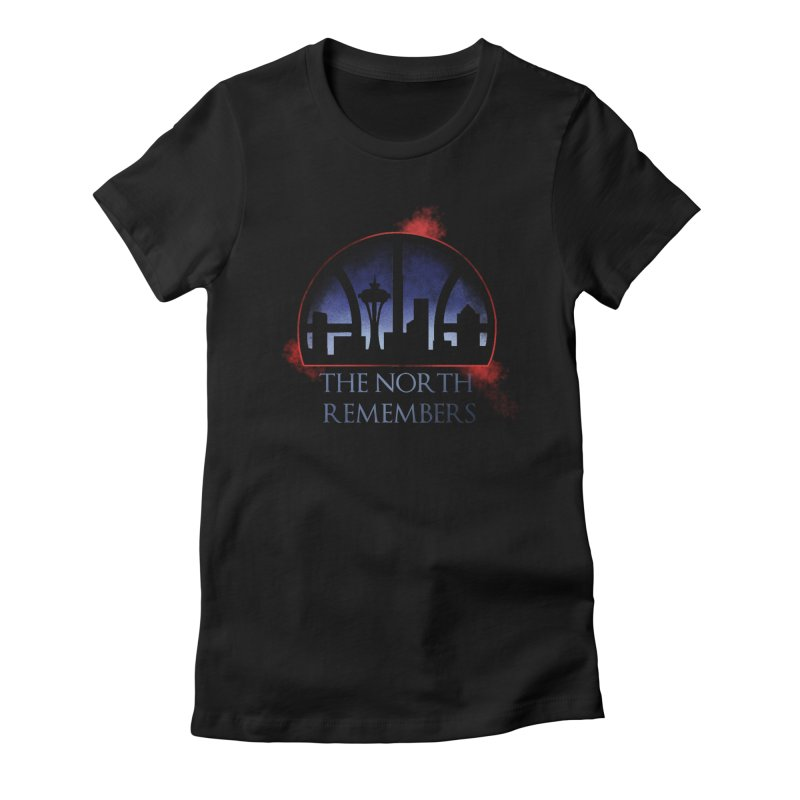 The North Remembers Women's Fitted T-Shirt by Arlen Pringle