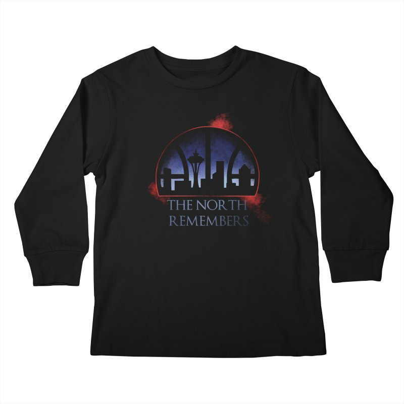 The North Remembers Kids Longsleeve T-Shirt by Arlen Pringle