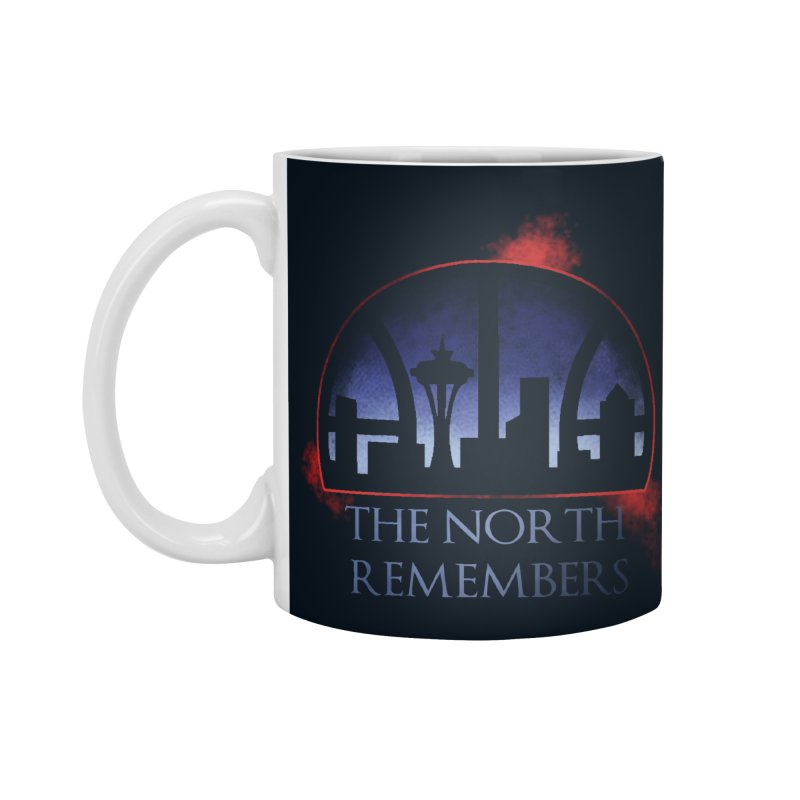 The North Remembers Accessories Mug by Arlen Pringle