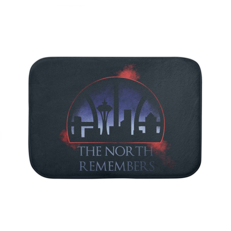 The North Remembers Home Bath Mat by Arlen Pringle
