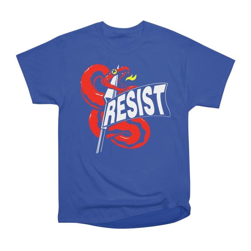 Resist Men's Classic T-Shirt by Arlen Pringle