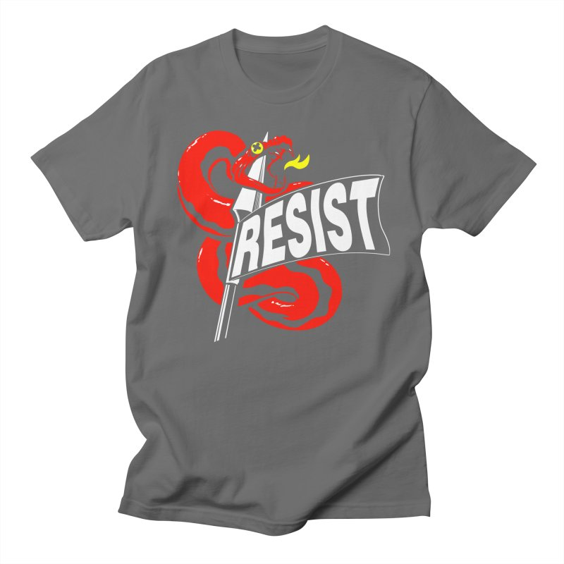 Resist Men's T-Shirt by Arlen Pringle