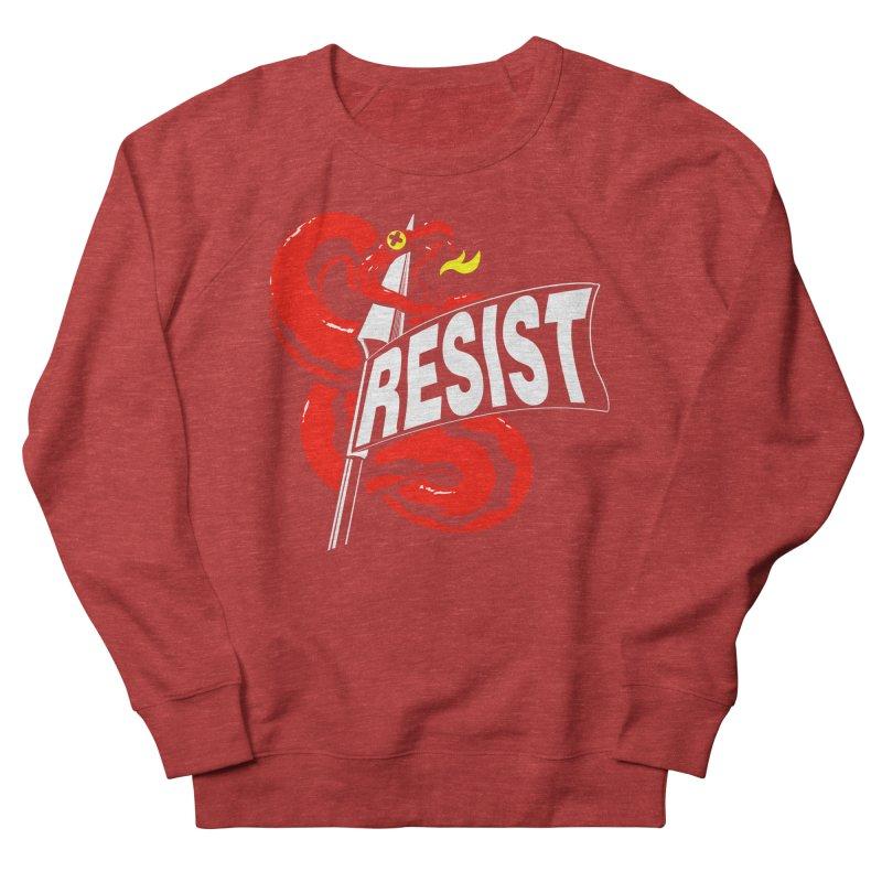 Resist Men's Sweatshirt by Arlen Pringle
