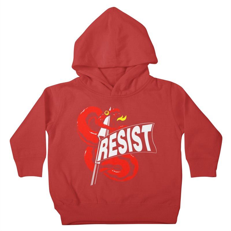 Resist Kids Toddler Pullover Hoody by Arlen Pringle