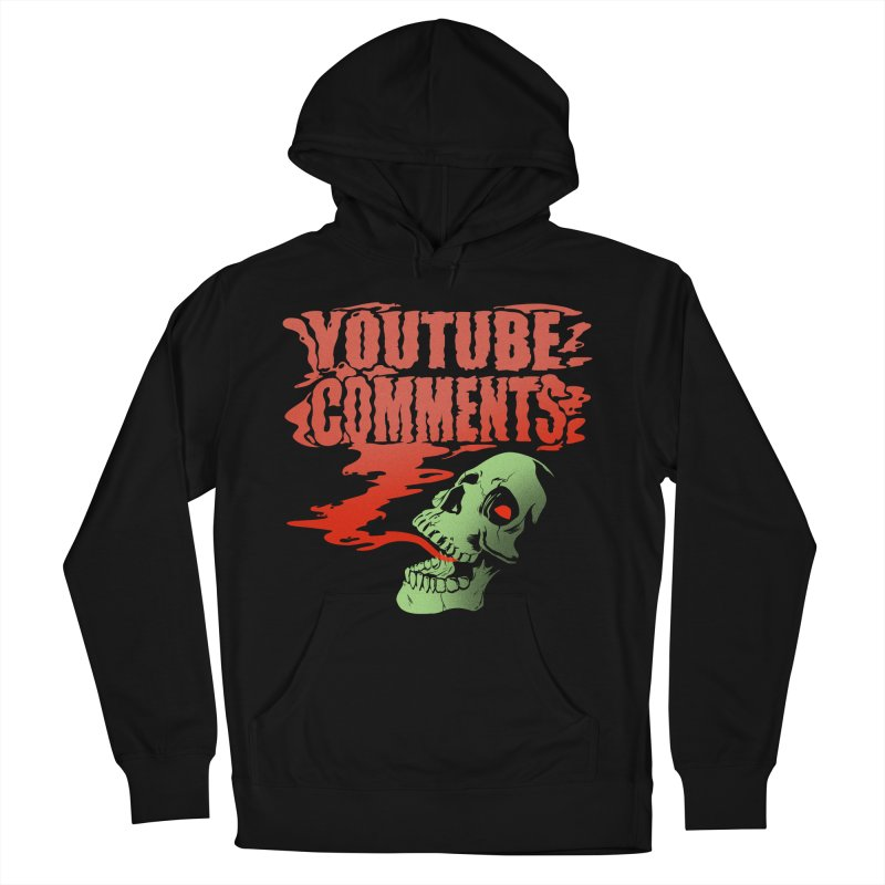 Youtube Comments Men's Pullover Hoody by Arlen Pringle