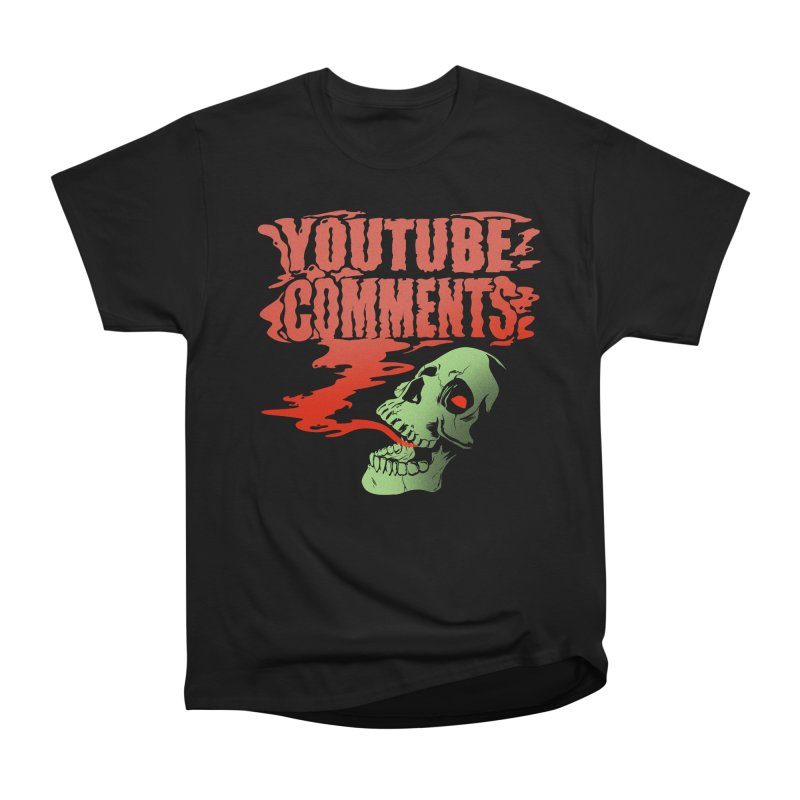 Youtube Comments Men's Classic T-Shirt by Arlen Pringle