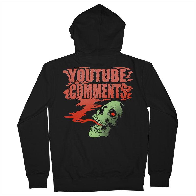 Youtube Comments Women's Zip-Up Hoody by Arlen Pringle