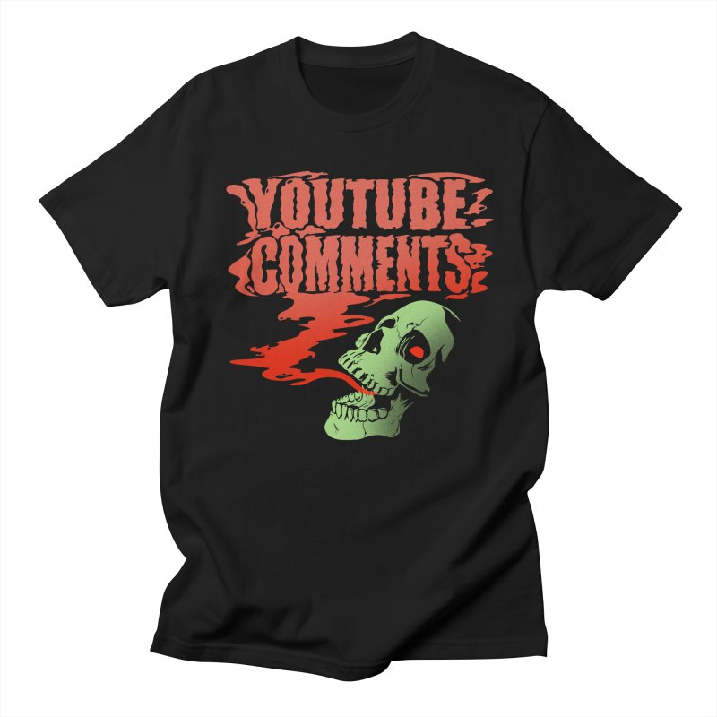 Youtube Comments Women's Unisex T-Shirt by Arlen Pringle