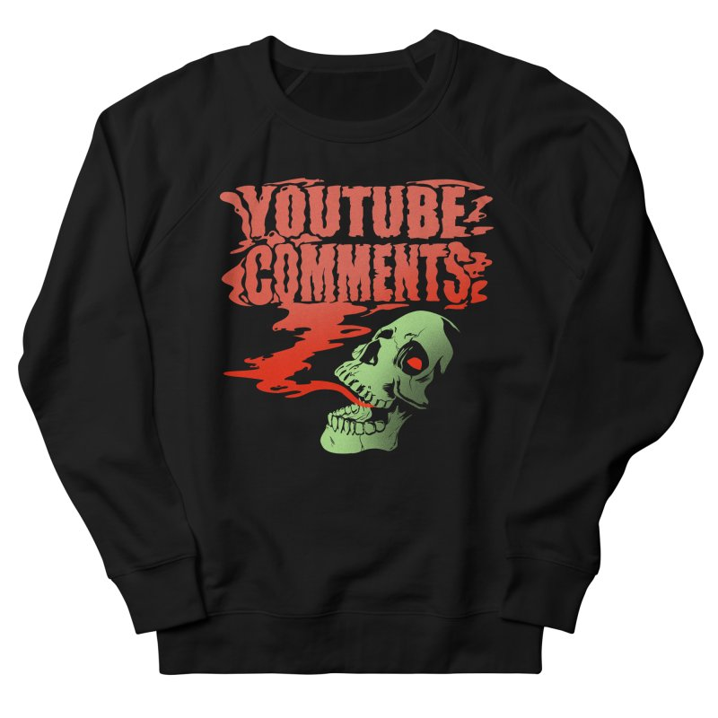 Youtube Comments Men's Sweatshirt by Arlen Pringle