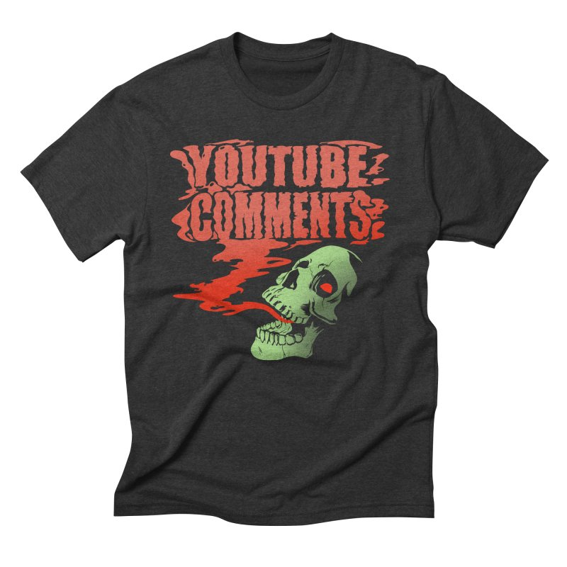 Youtube Comments Men's Triblend T-Shirt by Arlen Pringle
