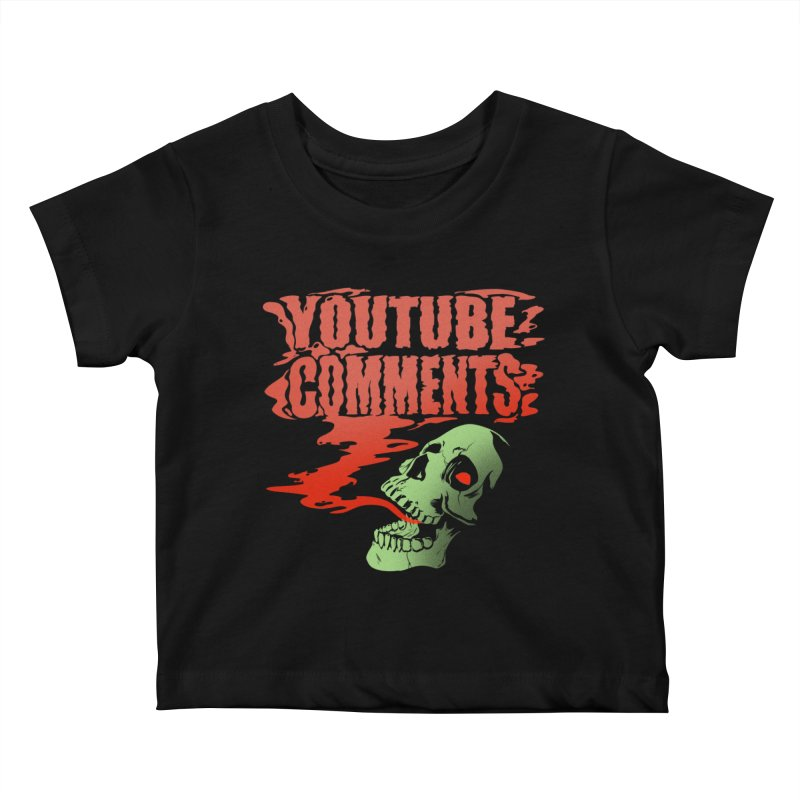 Youtube Comments Kids Baby T-Shirt by Arlen Pringle
