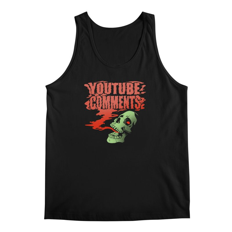 Youtube Comments Men's Tank by Arlen Pringle