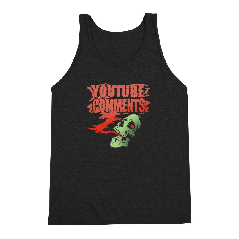 Youtube Comments Men's Triblend Tank by Arlen Pringle