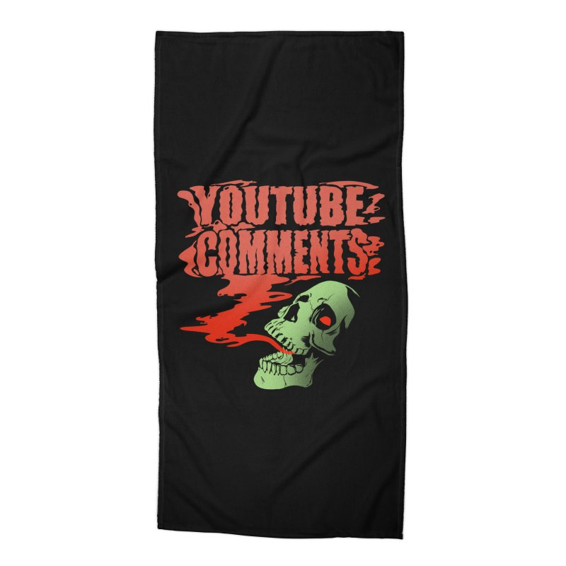 Youtube Comments Accessories Beach Towel by Arlen Pringle