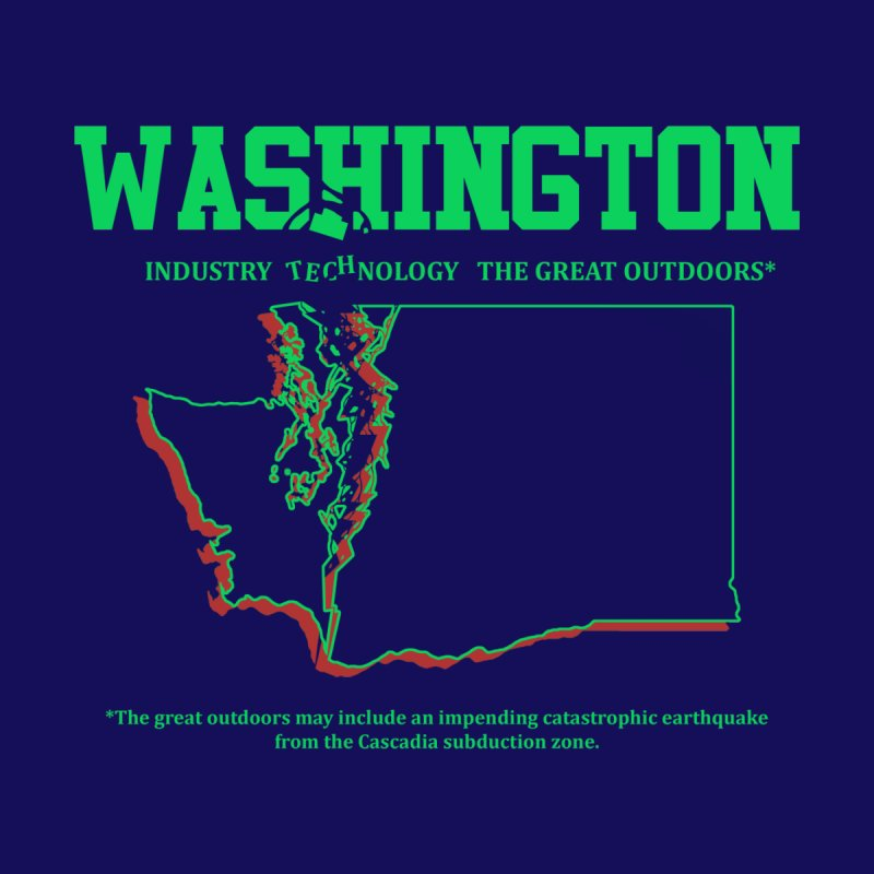 Washington! (and the impending earthquake.) None  by Arlen Pringle