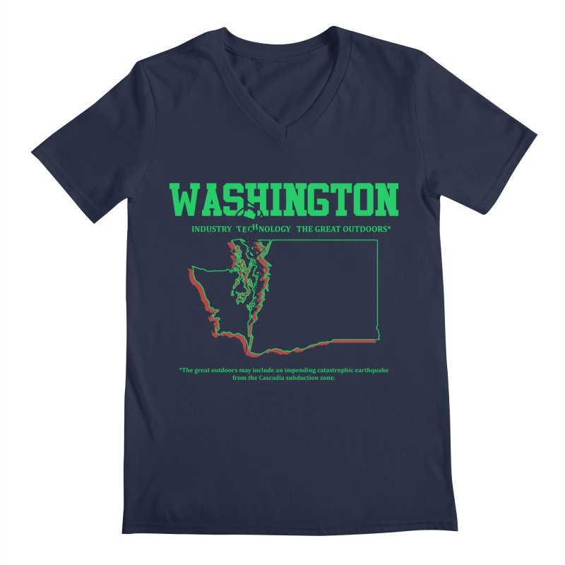 Washington! (and the impending earthquake.)   by Arlen Pringle