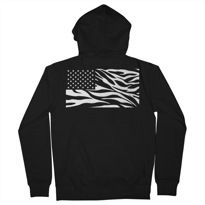 Wild America Men's Zip-Up Hoody by Arlen Pringle