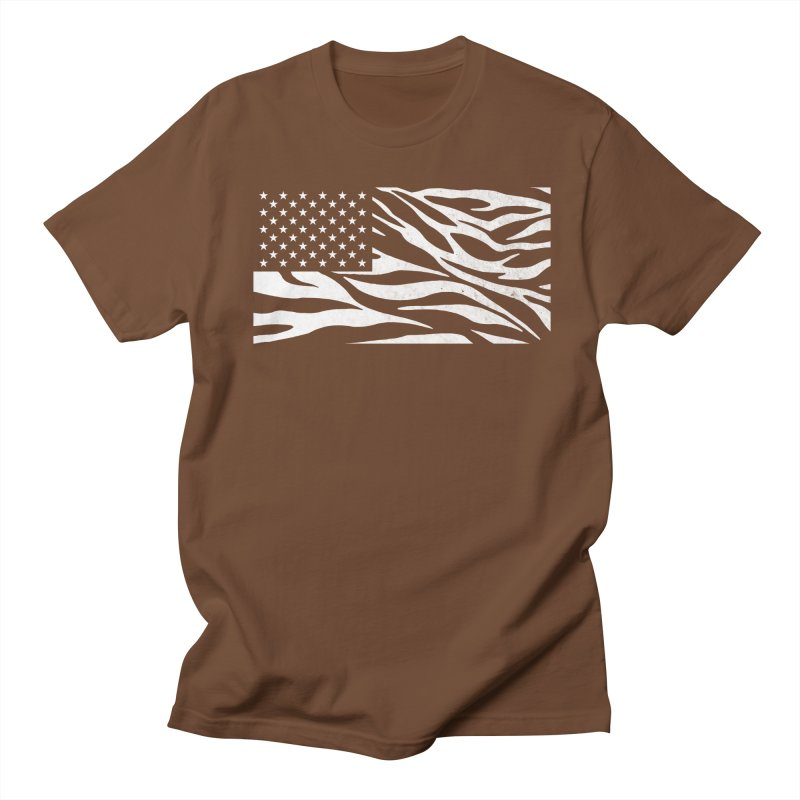 Wild America Men's T-shirt by Arlen Pringle
