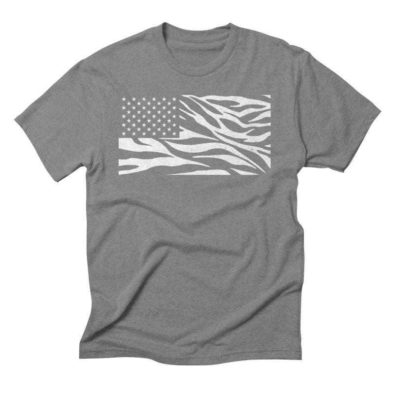 Wild America Men's Triblend T-Shirt by Arlen Pringle