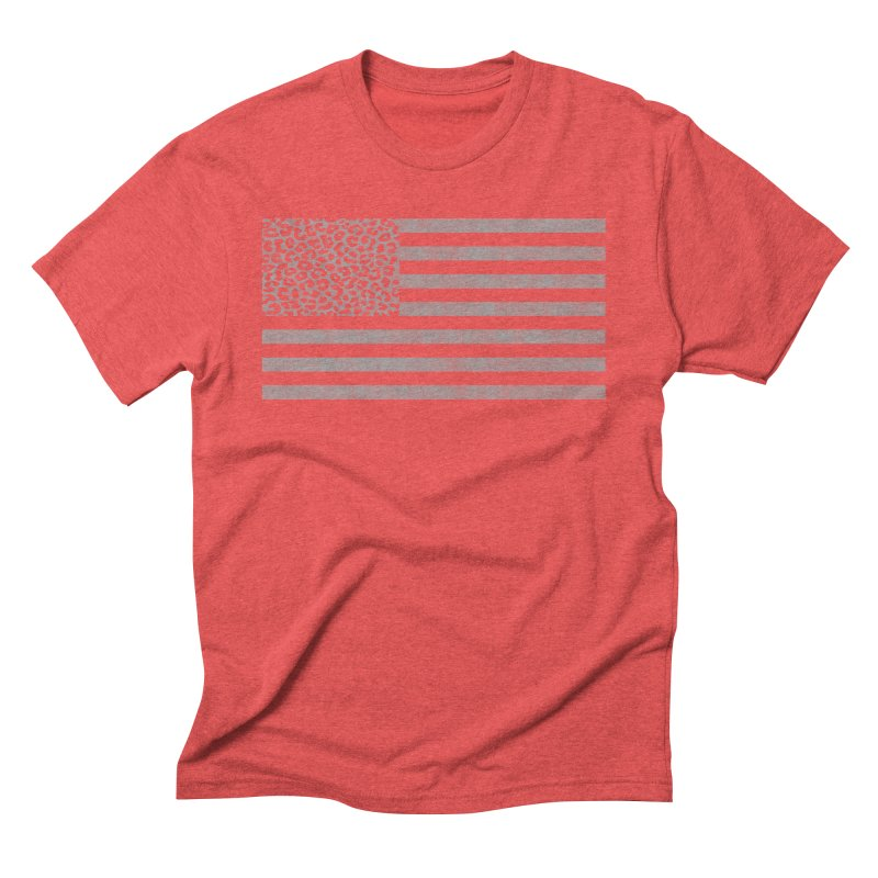 Spots and Stripes Men's Triblend T-Shirt by Arlen Pringle