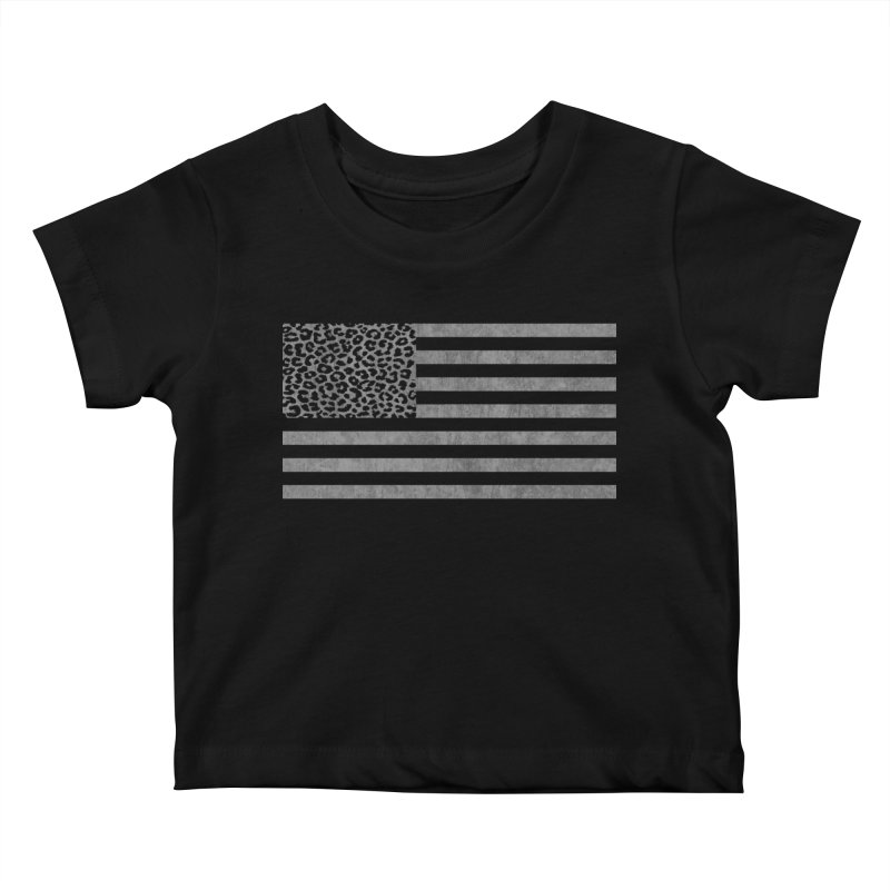 Spots and Stripes Kids Baby T-Shirt by Arlen Pringle