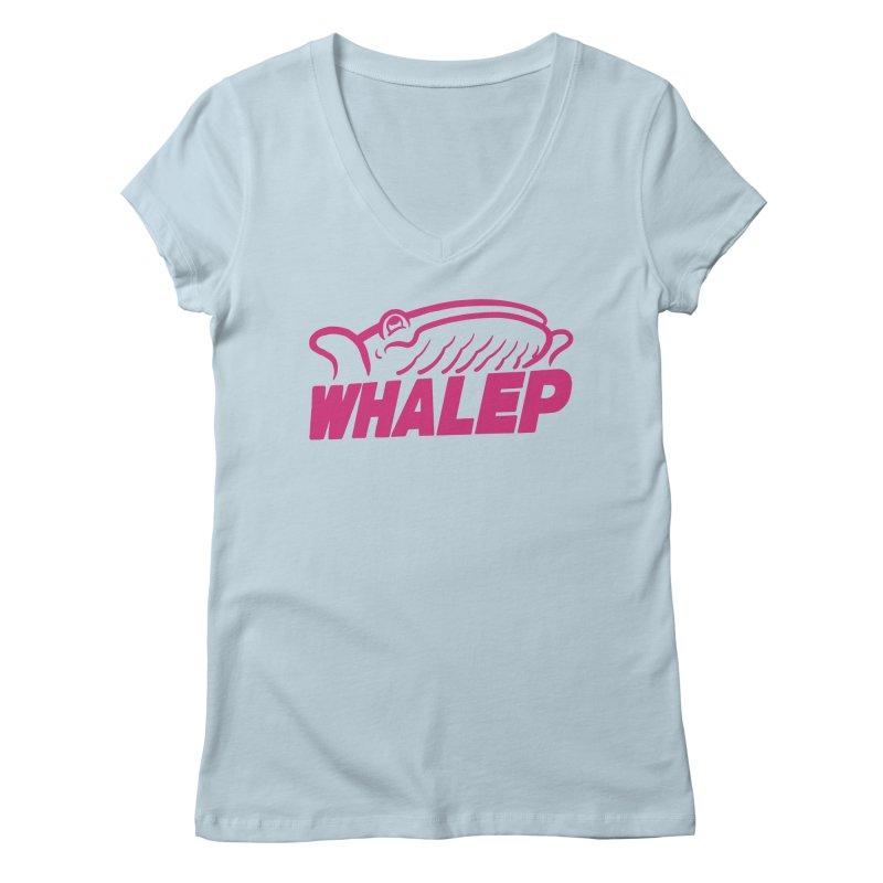 WHALEP (Pink Linework)   by Arlen Pringle