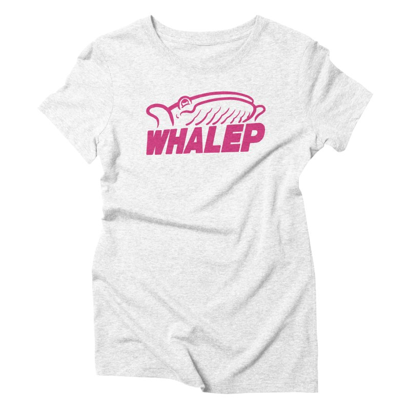 WHALEP (Pink Linework) Women's Triblend T-shirt by Arlen Pringle
