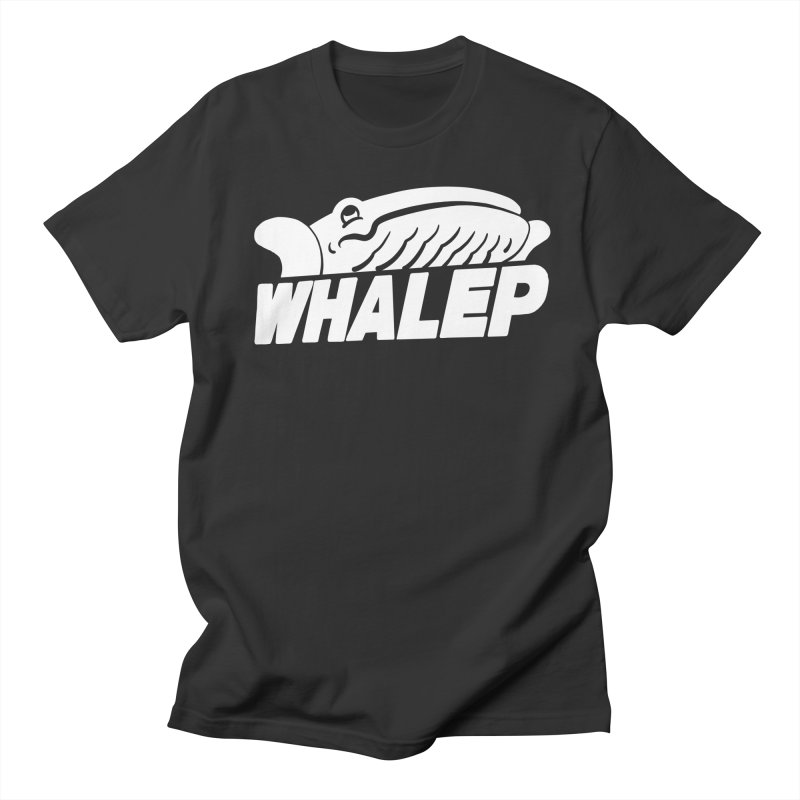 WHALEP (White Linework) Men's T-shirt by Arlen Pringle