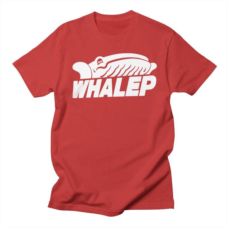 WHALEP (White Linework) Men's T-shirt by Arlen Pringle