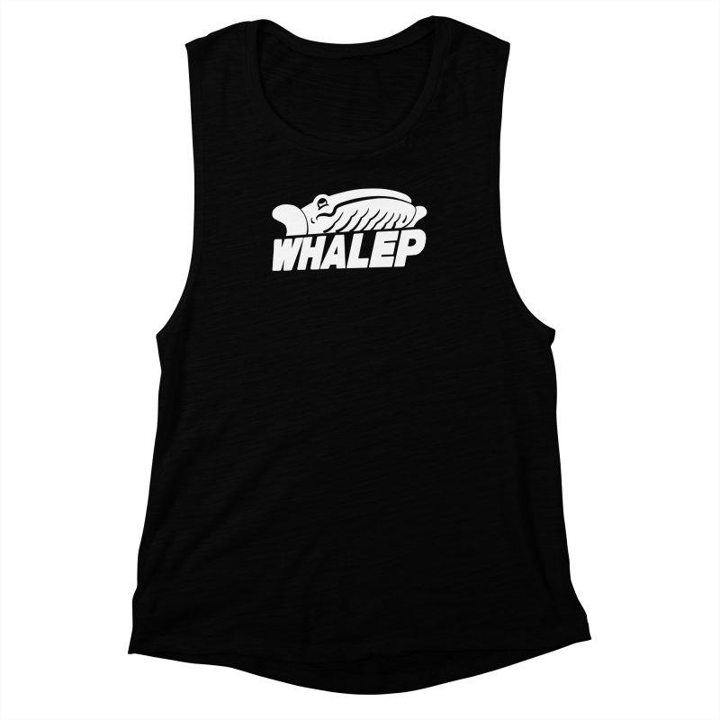 WHALEP (White Linework) Women's Muscle Tank by Arlen Pringle