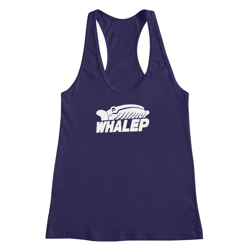 WHALEP (White Linework) Women's Racerback Tank by Arlen Pringle
