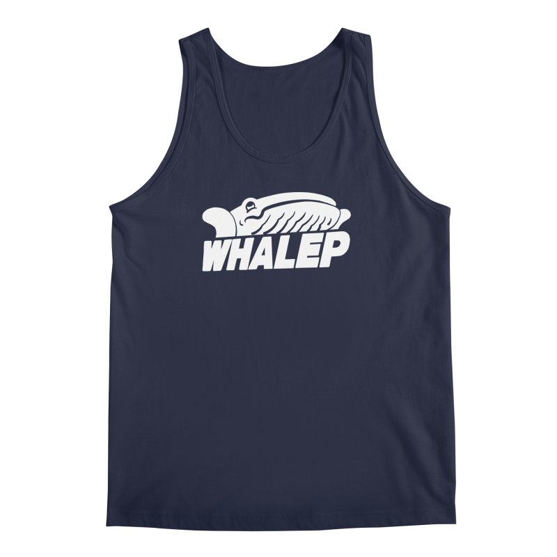 WHALEP (White Linework) Men's Tank by Arlen Pringle